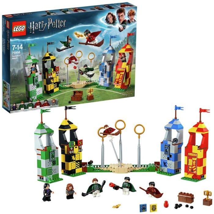 LEGO Harry Potter Quidditch Match Building Set