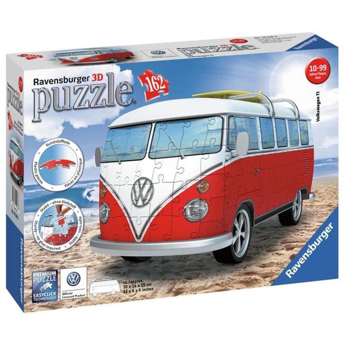 Ravensburger Volkswagen T1 Camper Van 3D Puzzle