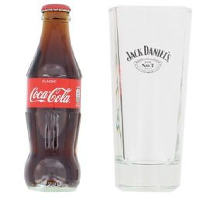 Coca Cola & Jack Daniels Glass