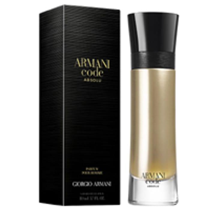 Free Giorgio Armani Code Absolu Perfume