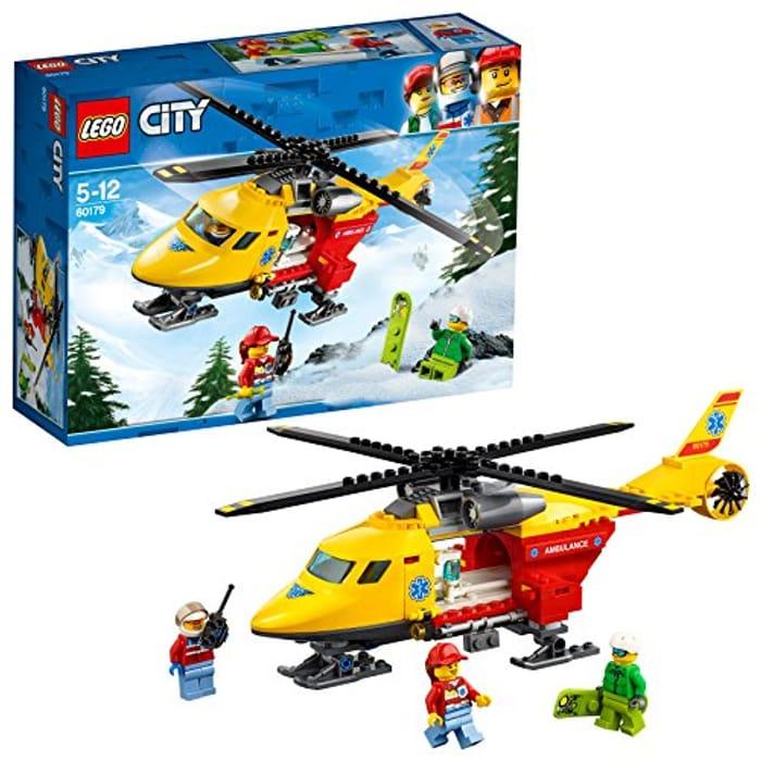 LEGO 60179 City Great Vehicles Ambulance Helicopter Toy