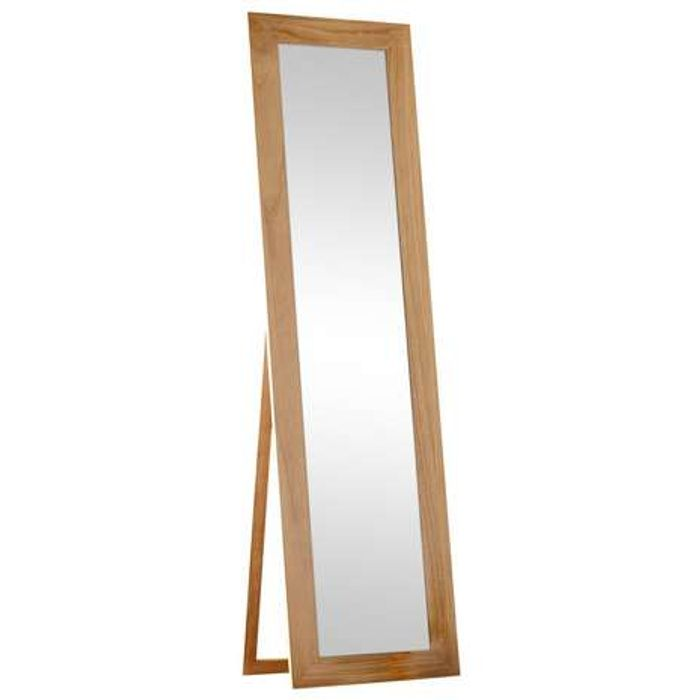 *HALF PRICE* Tall Real Wood Frame Mirror