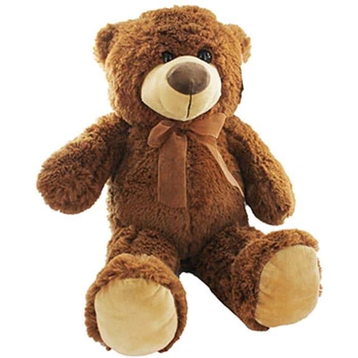 Adorable Sitting Bear Plush - Assorted