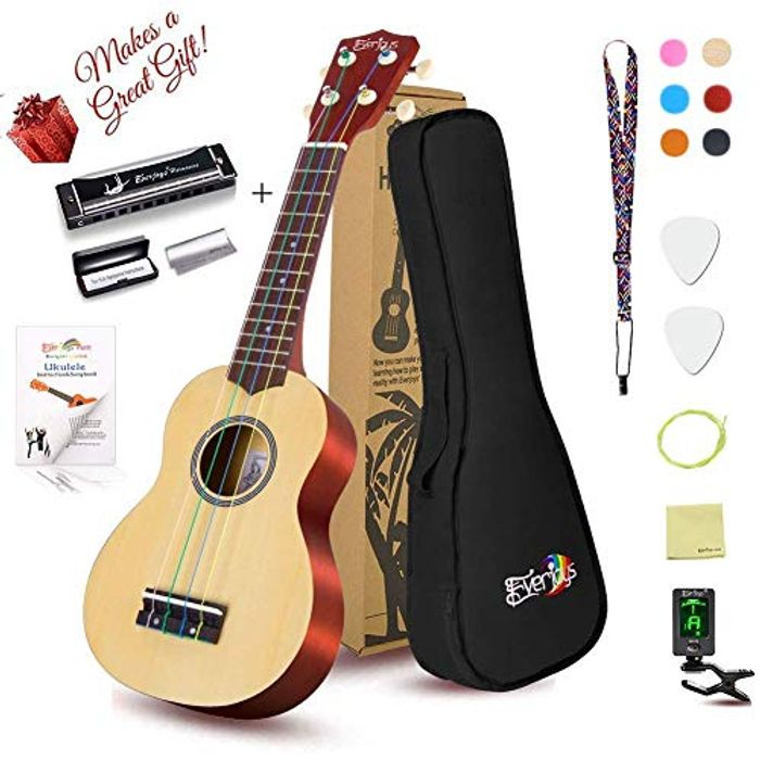 Soprano Ukulele - Beginners Kit,