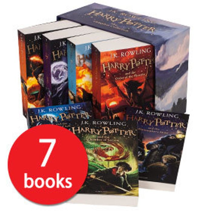The Complete 7 Book Harry Potter Collection £26.71 Delivered at TBP
