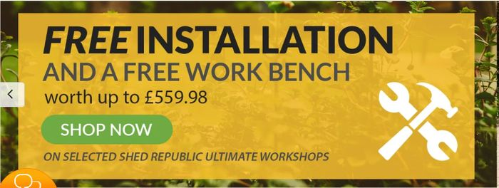 Free Installation and Free Work Bench