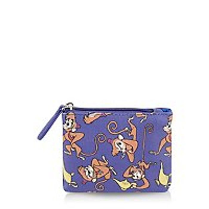 Disney Aladdin Abu Purple Coin Purse
