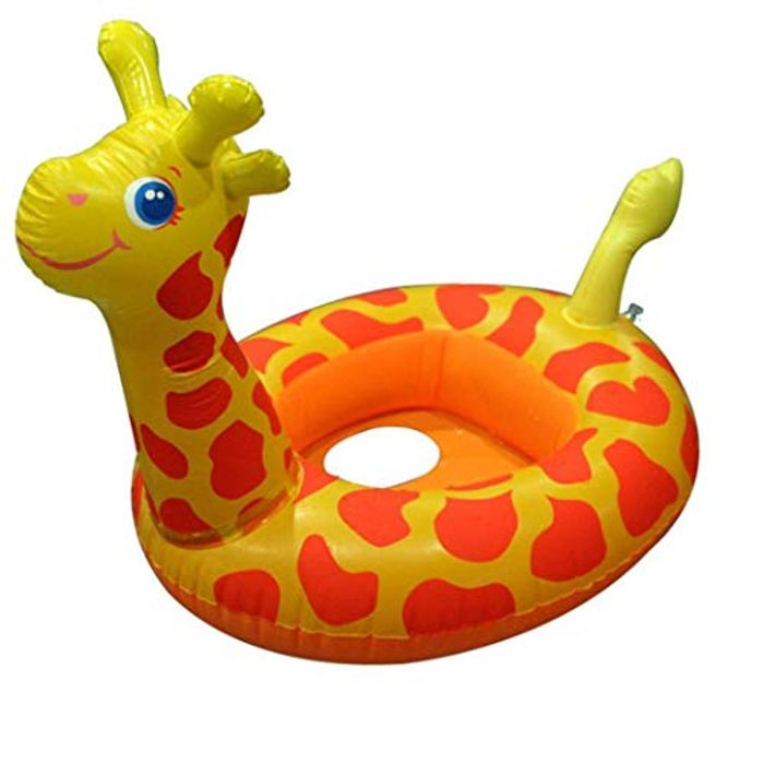 Inflatable Swimming Ring Cartoon Animal Pattern Pool