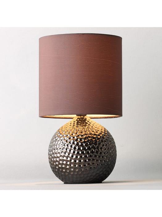 *BARGAIN* John Lewis Alisa Table Lamp, Bronze & Mocha Shade with 5yr Guarantee
