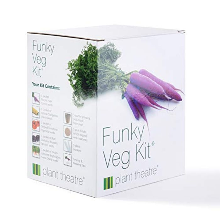 Funky Veg Kit by Plant Theatre 5 Extraordinary Vegetables to Grow