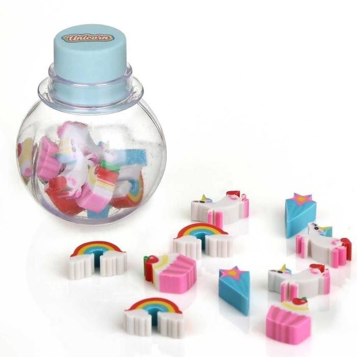 NPW Unicorn Mini Eraser Pot