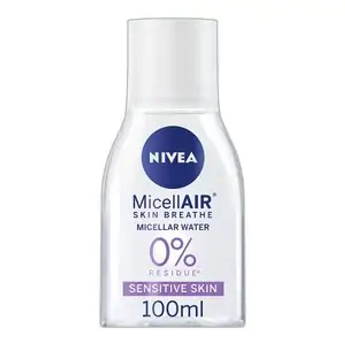 NIVEA MicellAIR Micellar Water for Sensitive Skin, 100ml