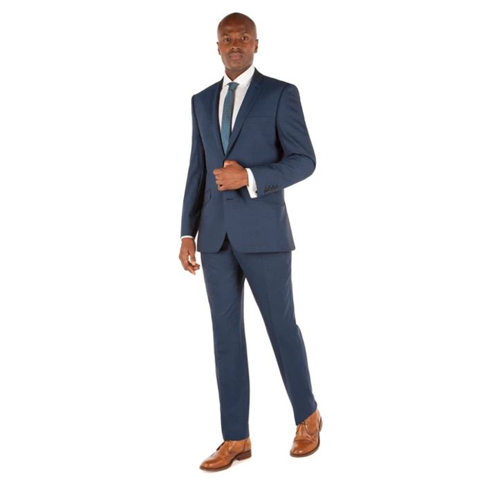 Ben Sherman Men's Teal Tonic 2 Button Slim Fit Suit - SAVE £129