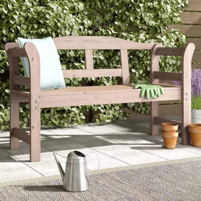 Wooden 2 Seater Garden Bench