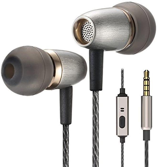Betron AX3 Earphones Noise Isolating in Ear Headphones Balanced Bass Driven