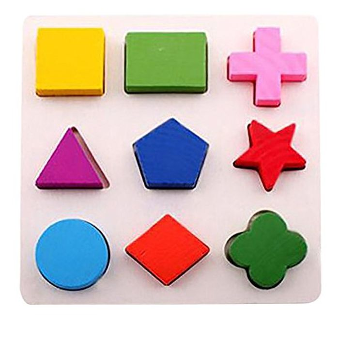 Wooden Blocks Puzzle (Various Models; £1.99 Delivery)