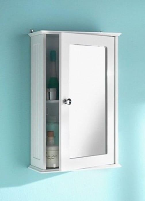 Mirrored Wall Mounted Bathroom Cabinet