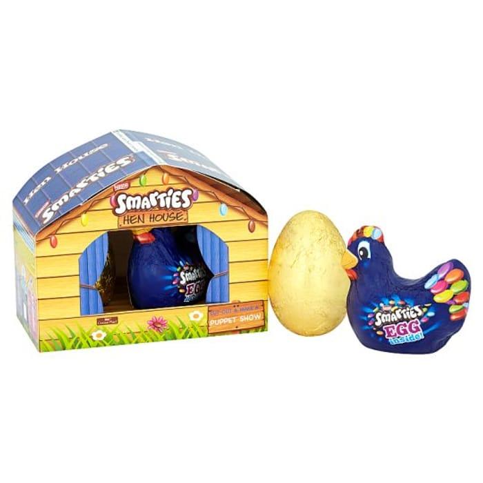 Nestle Smarties Milk Chocolate Easter Egg Farmyard Gift Set - Save £2