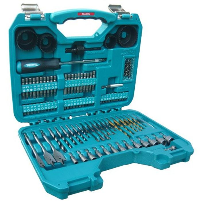 Makita Power Drill Accessory Set (100 Pieces) - 45% Off