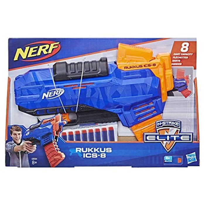 Nerf N-Strike Elite Rukkus ICS-8 - 40% Off