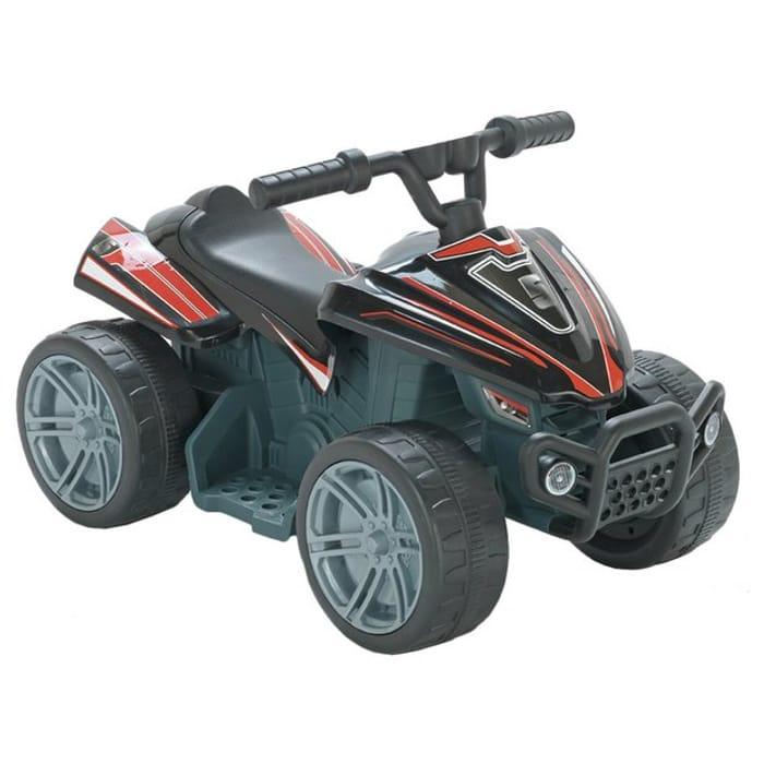 Chad Valley Baby 6V Powered Quad Bike - Black & Red C&C - HALF PRICE