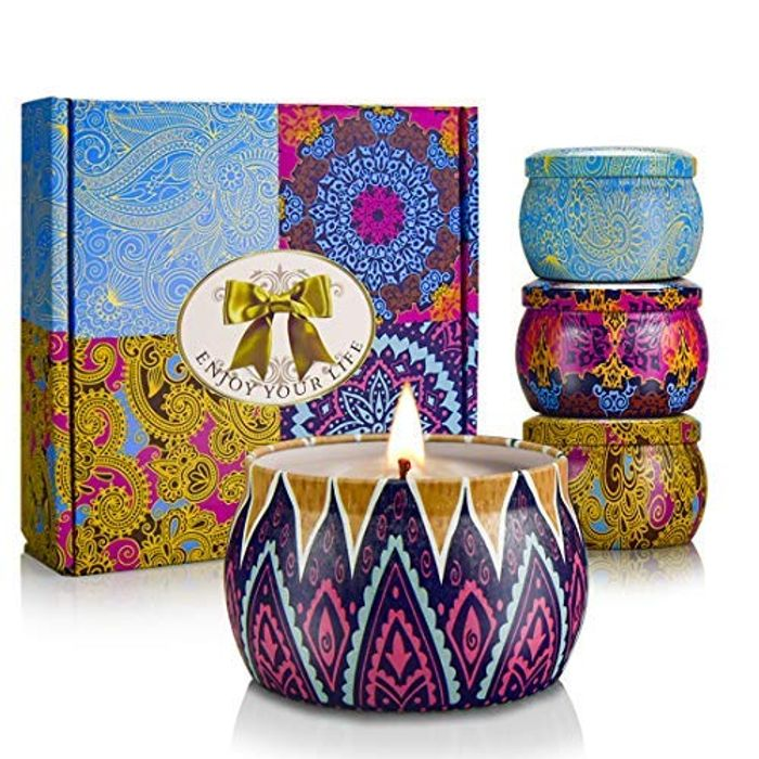 CREASHINE Scented Candles Gift Sets, Set of 4