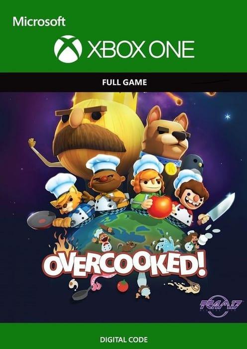 Overcooked ( Xbox One, XB1, Xbone )