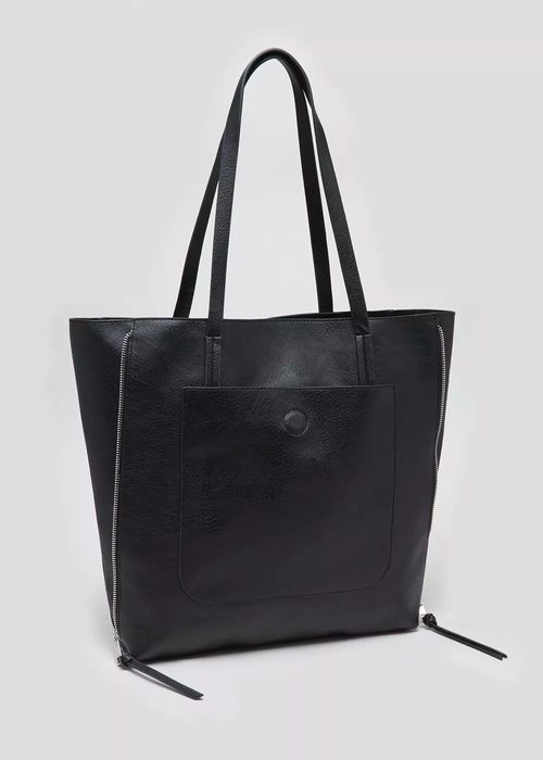 Half Price Side Zip Tote Bag