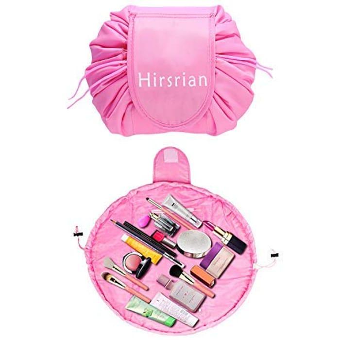 Price Drop! Lazy Cosmetic Bag Hirsrian Makeup Bag