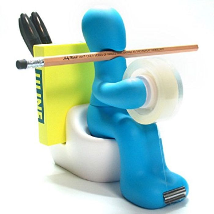 Multi-Purpose Office Supply Station Tape Dispenser Desk Accessory