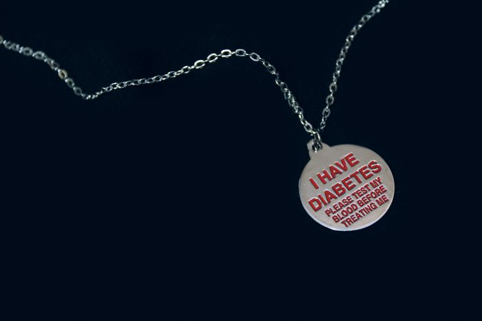 Free Awareness Necklace for Diabetics