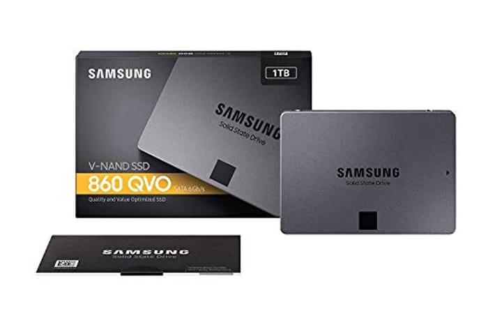 Samsung QVO 860 1TB 2.5 Inch SSD £90.16 at Amazon.co.uk
