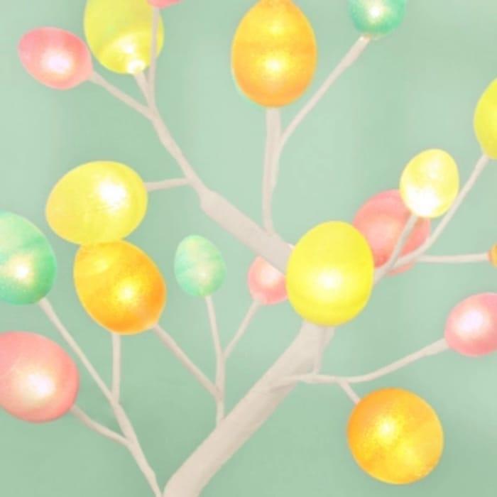 Spring 20 LED Egg Tree
