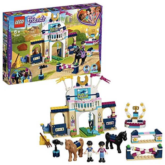 LEGO 41367 Friends Stephanie's Horse Jumping Playset, Mini-Dolls and Acessories