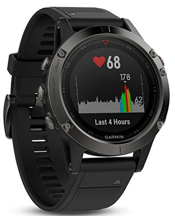 Garmin Fenix 5 Multisport GPS Watch with Outdoor Navigation and Heart Rate