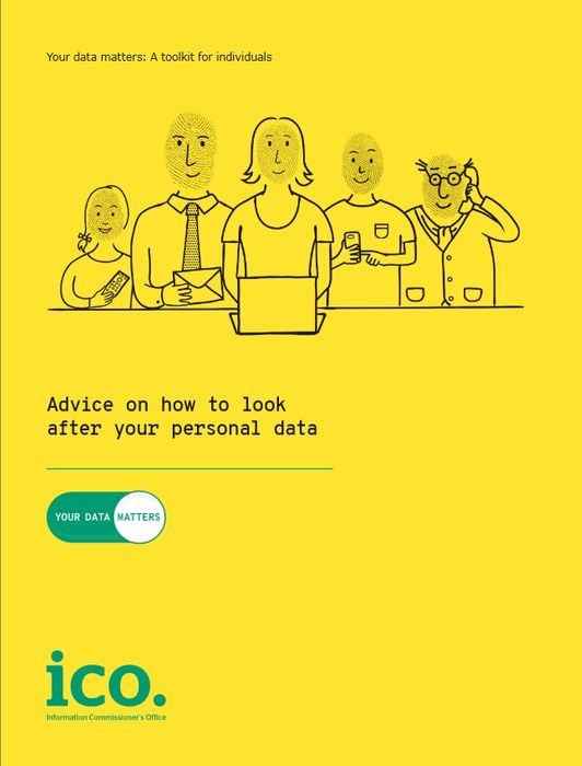 Free Copy of Your Data Matters: A Toolkit for Individuals and Other Booklets