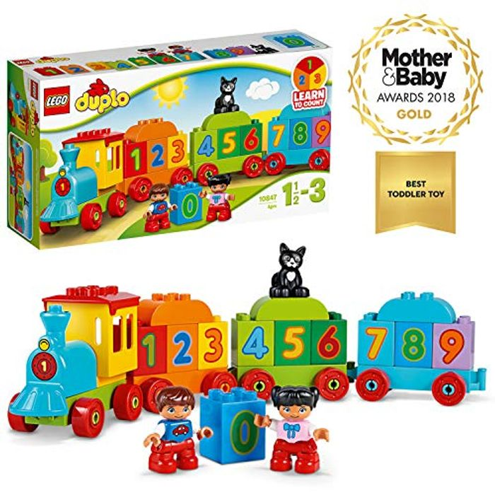 LEGO 10847 Duplo Award-Winning Number Train Toy with Number Bricks Only £9.44