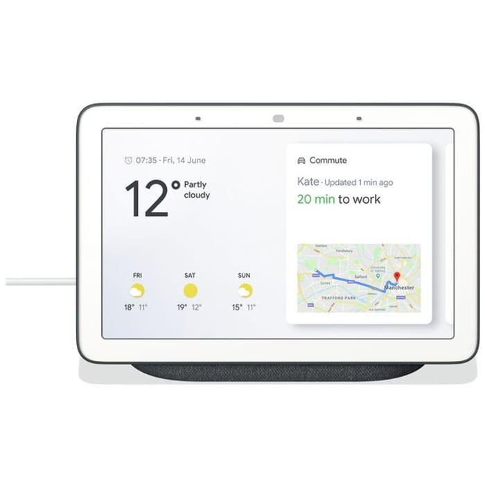 Google Home Hub - Charcoal at Argos - Save £40