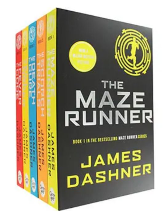 The Complete Maze Runner Book Set £7.50 at The Works (Free Click & Collect)