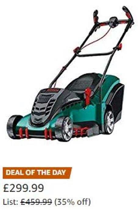 SAVE £160 TODAY AT AMAZON. Bosch Rotak 430 LI Cordless Lawnmower (43cm Cut)