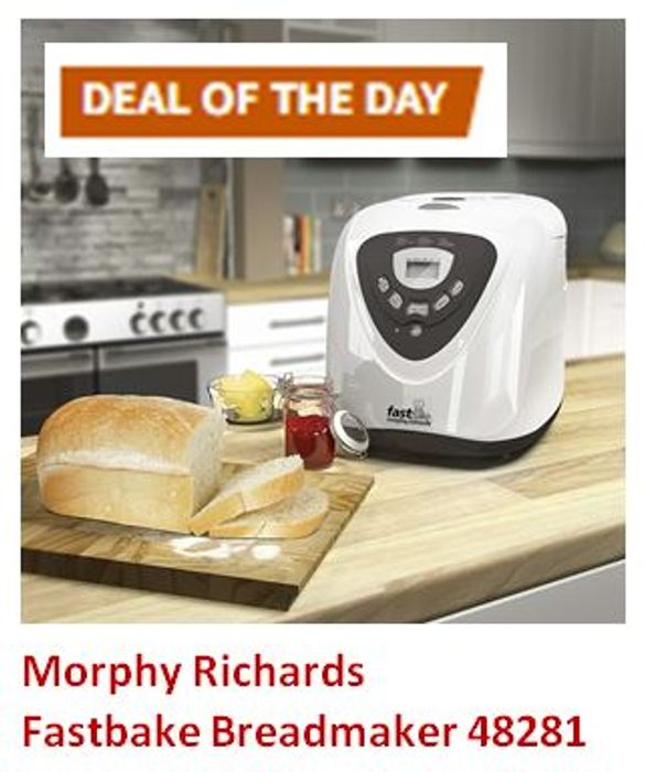 Save 35 Deal Of The Day Monday Morphy Richards Fastbake Breadmaker 48281 44 99 At Amazon Latestdeals Co Uk S3m537 timed belt measures approximately 21.1 in circumference by 0.24 top width with 179 teethincludes 1 bread maker baker cogged belttop. morphy richards fastbake breadmaker