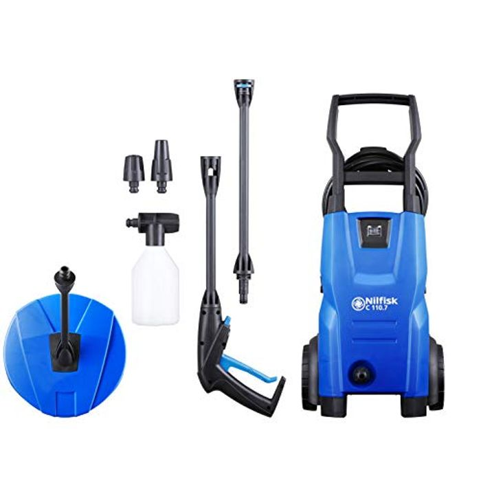*TODAY ONLY* Nilfisk C 110 Bar Pressure Washer (Includes Patio Cleaner)