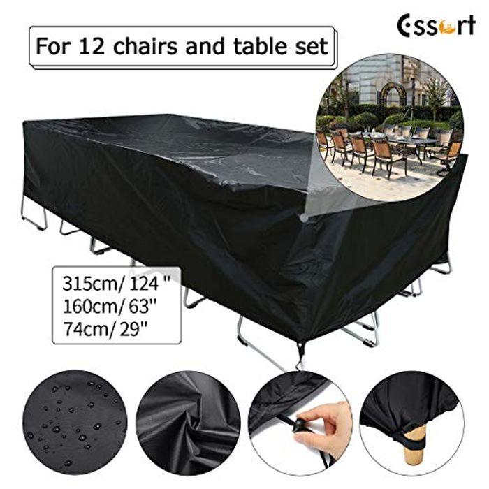 *STACK DEAL* Garden Furniture Cover - £9.89 from Amazon!