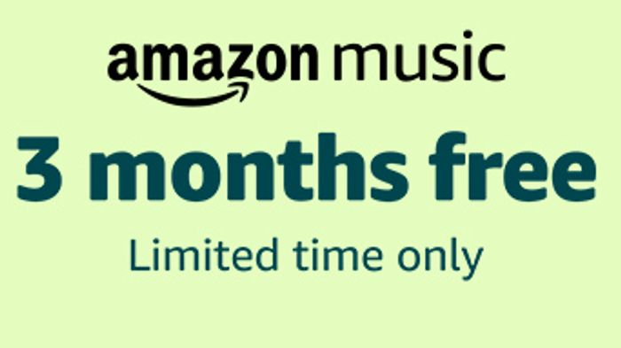 3 Months Free of Amazon Music (Limited Time Only)
