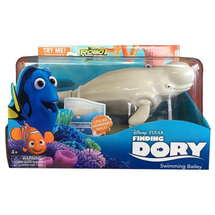 Disney Pixar Finding Dory Swimming Bailey Robo Fish