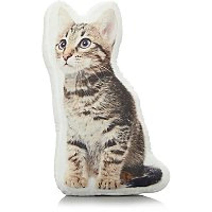 Cat Shaped Pillow - Half Price At Asda