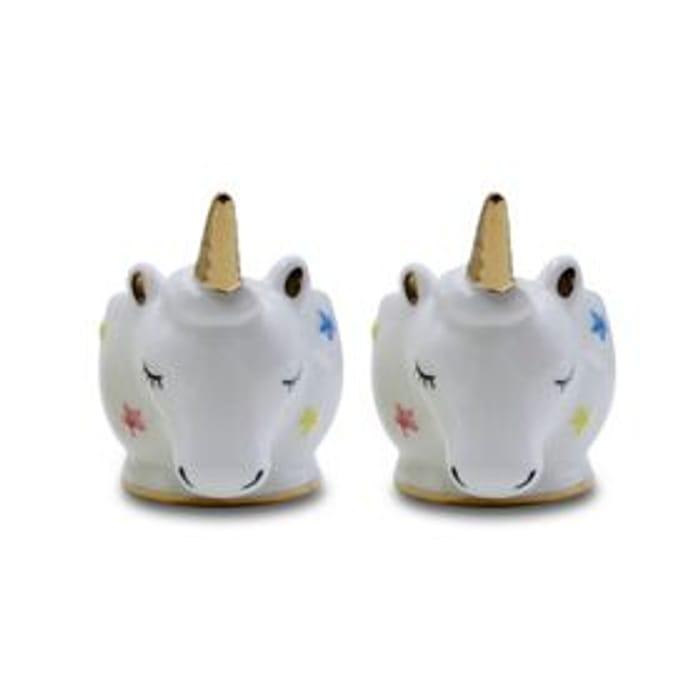 George Home Unicorn Eggcups 2pk