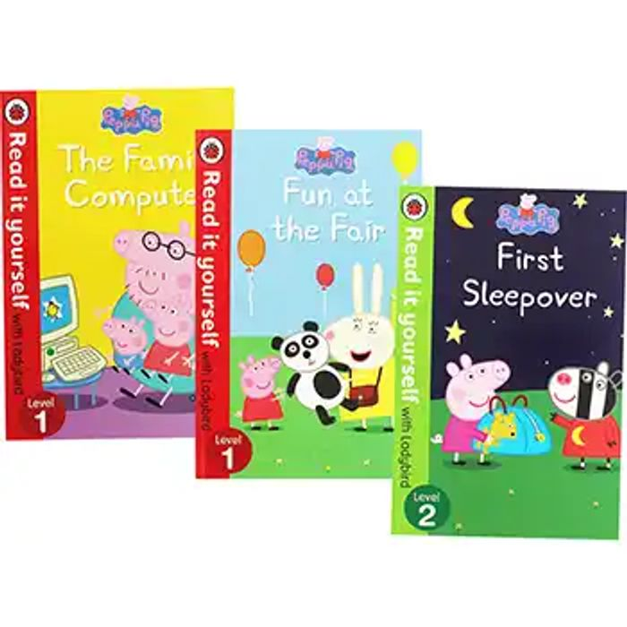 Peppa Pig Read It Yourself Book Bundle