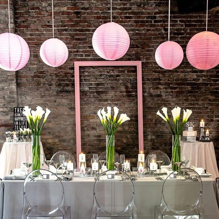 Round Paper Lanterns - Medium CHOICE of COLOURS