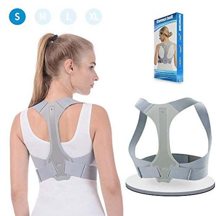 ANOOPSYCHE Posture Corrector Adjustable Back Shoulder